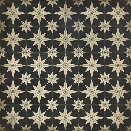 Vintage Vinyl Floorcloth - Pattern 20 Vesper - 36x36