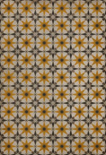 Vintage Vinyl Floorcloth - Pattern 72 Raconteur - 52x76