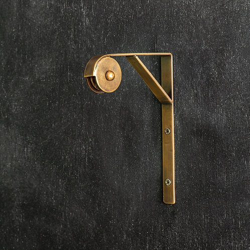 Brass Wall Mount Lamp Pulley