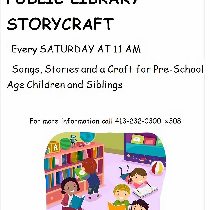 Storycraft at the Library with Miss Vicky
