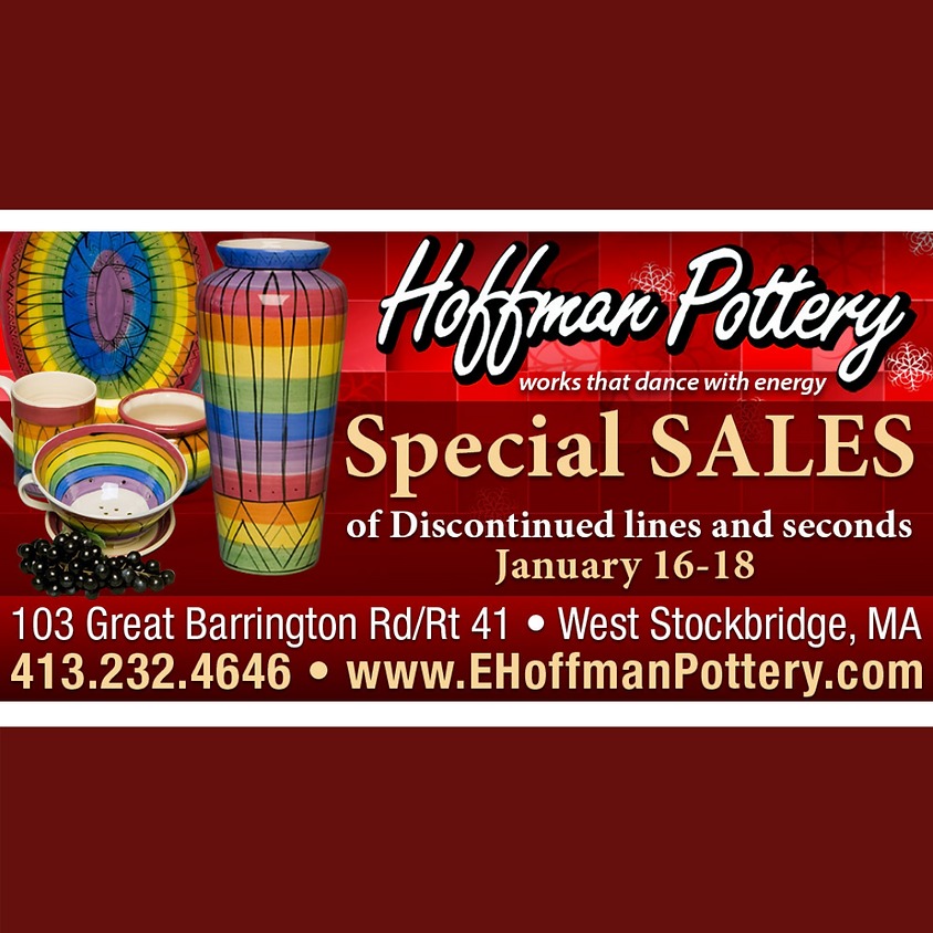 Hoffman Pottery Special Sale
