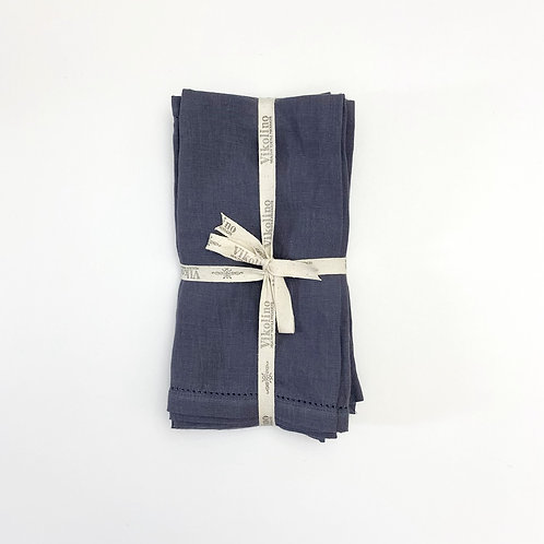 Linen Napkin Set/4 - Charcoal