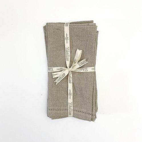 Linen Napkin Set/4 - Natural