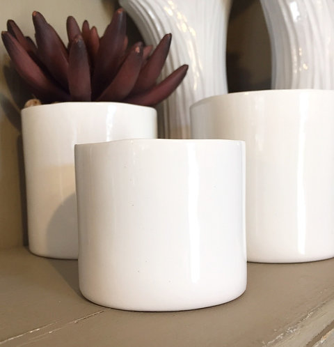 Brooklyn Ceramic Container - 2 sizes
