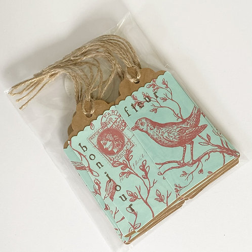 Shabby French Gift Tags Set/10