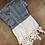Thumbnail: Turkish Hand Towel Black Herringbone