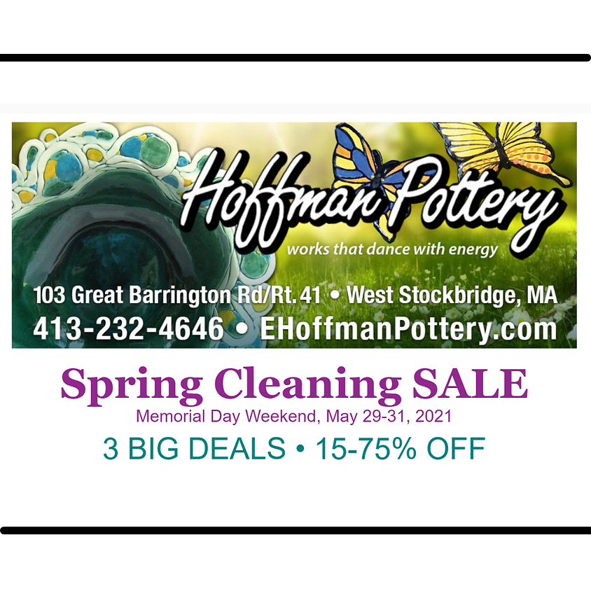 Hoffman Pottery Spring Cleaning Sale
