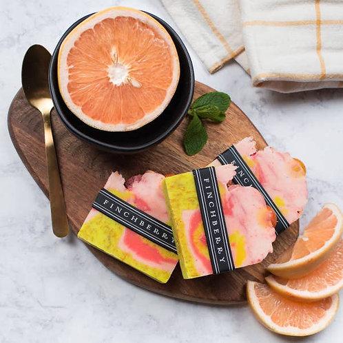 FinchBerry Soap Bar Slice Past Curfew Grapefruit Bergamot