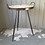 Thumbnail: Metal + Carved Wood Accent Table
