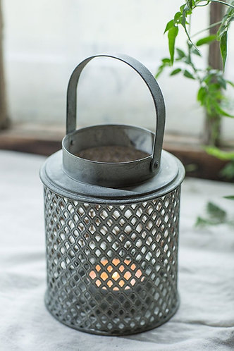 Diamond Metal Lantern