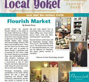 Local Yokel January 2016 Flourish Market