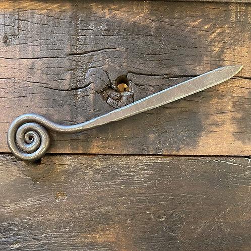 Fiddlehead Spiral Letter Opener