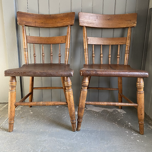 Early American Chair Pair