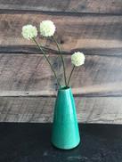 Terracotta Bud Vase in Teal