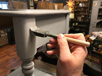 Flourish Market Jennifer Knopf Painting Furniture Hand Vintage