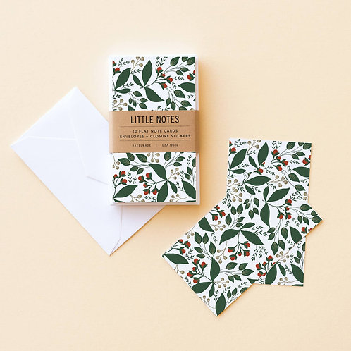 Winterberry Little Notes Set