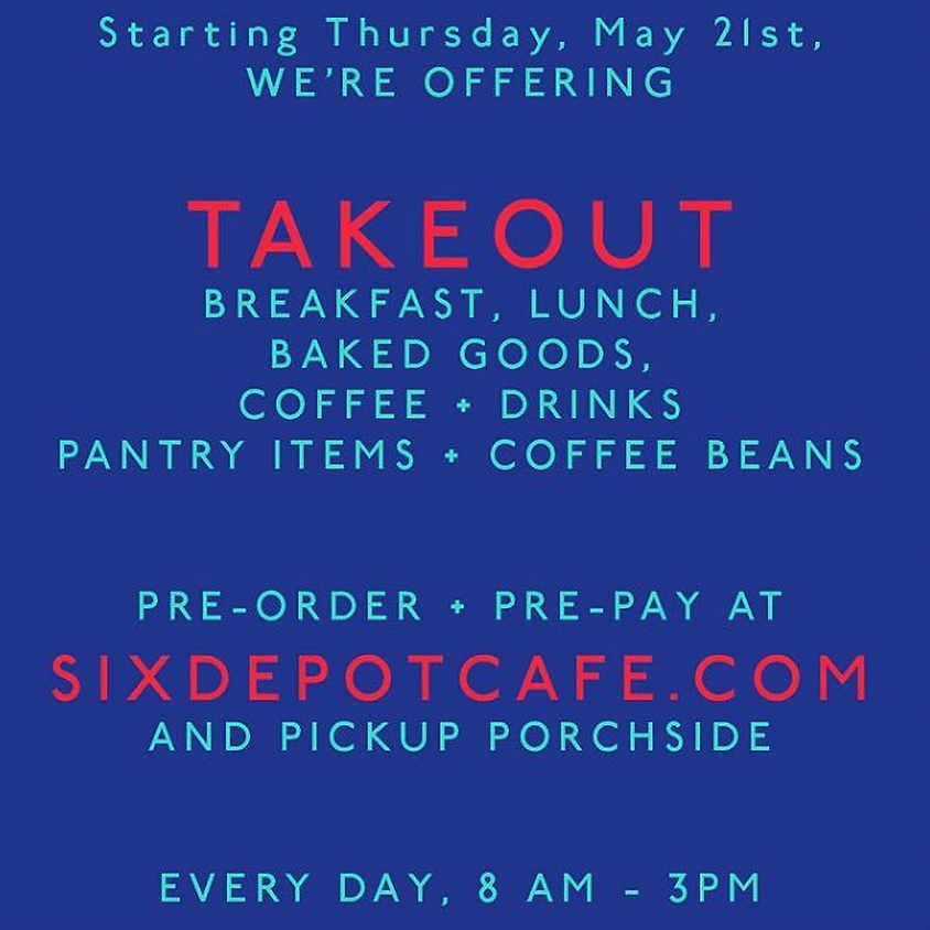 Takeout at Six Depot Coffee Roastery