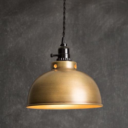 Brass Dome Pendant Lamp