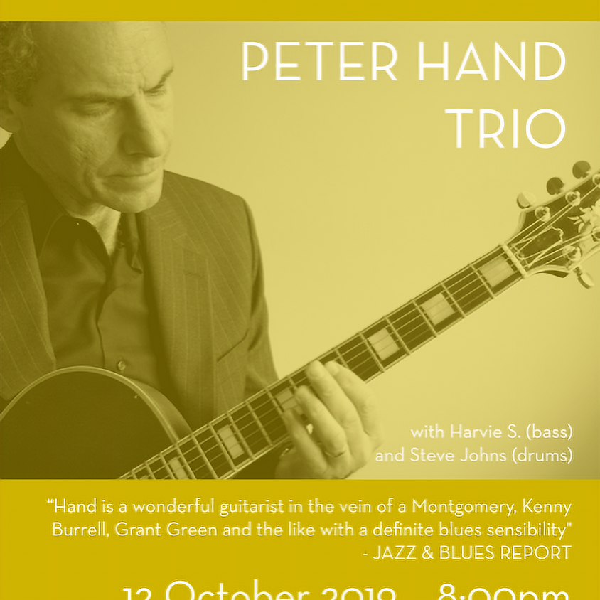 West Stockbridge Jazz Series - Peter Hand Trio