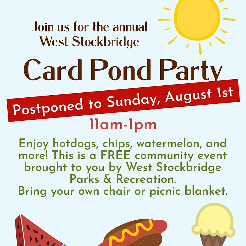 Card Pond Party (New Date)