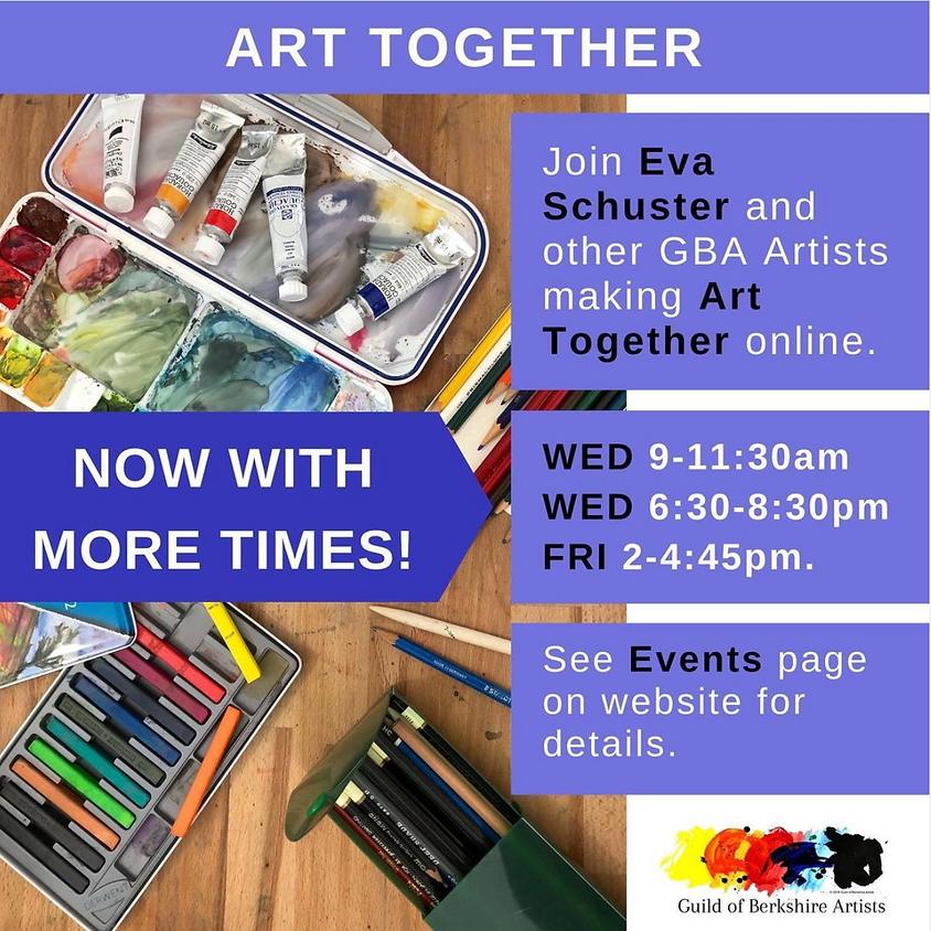 Eva Schuster and Guild Artists - Making Art Together