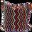 Zigzag Pattern Kilim Pillow 24x24