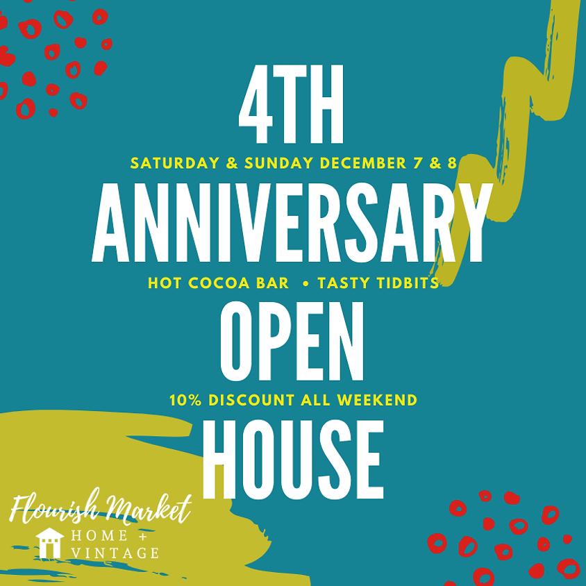 Flourish Market 4th Anniversary Open House