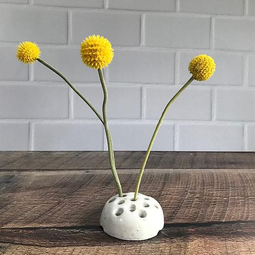 Japan flower frog stoneware farmhouse