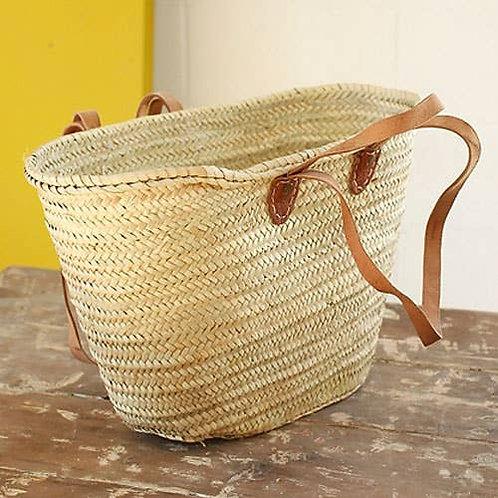 French Market Basket Tote Bag