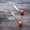 Thumbnail: Neon Dot Drop Earrings