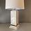 Thumbnail: Vintage Hollywood Regency Bamboo Ceramic Lamp