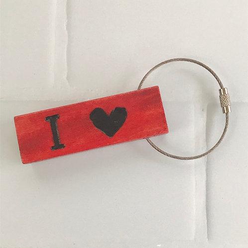 Block Party Key Ring