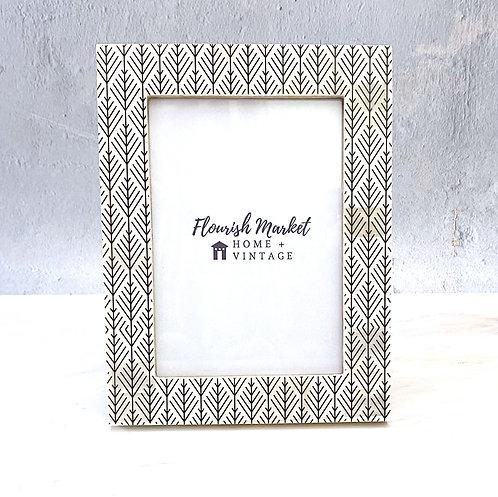 Hemlock Pattern Photo Frame