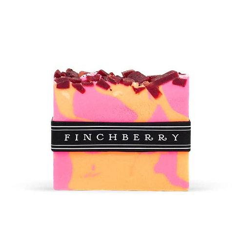 FinchBerry Soap Bar Slice Tart Me Up Raspberry Lemon Pink