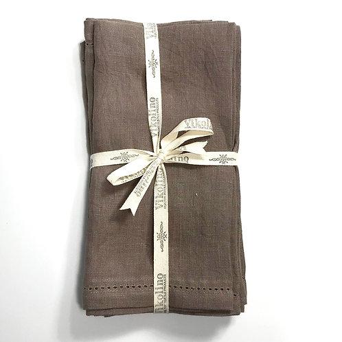 Linen Napkin Set/4 - Cocoa