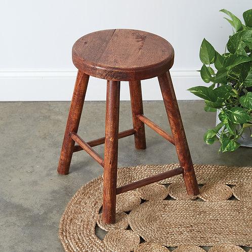 Round Wooden Stool
