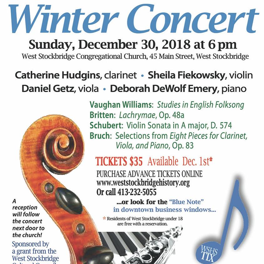 West Stockbridge Chamber Players Winter Concert