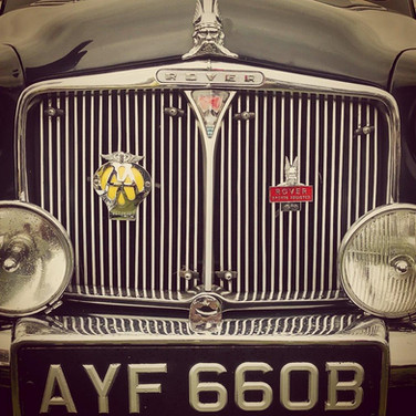 Classic Rover Grille