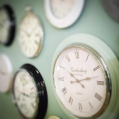 Clocks Blank White Card