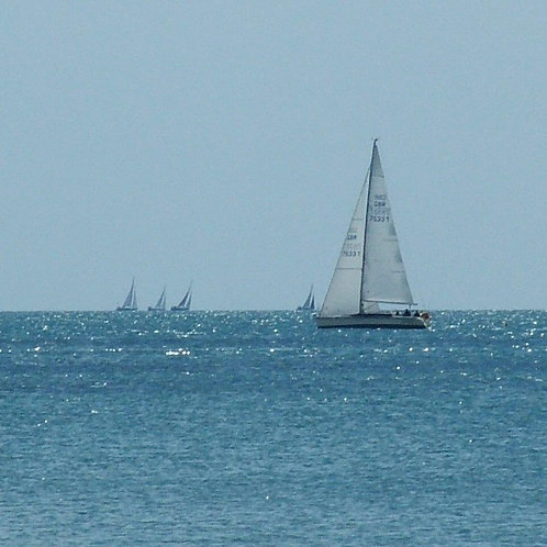 Sailing Fun! - The Solent Blank Card