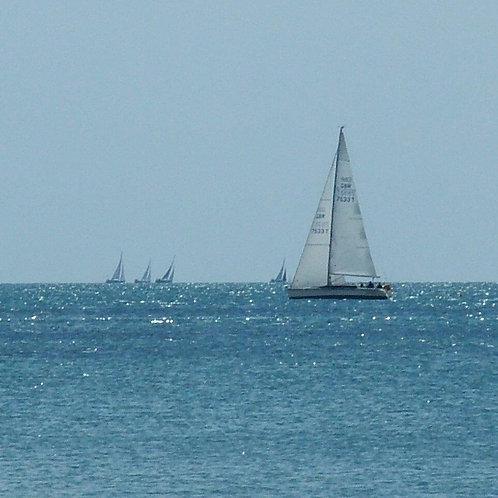 Sailing Notecard