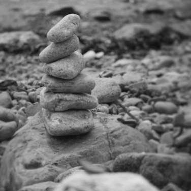 Balanacing Pebbles
