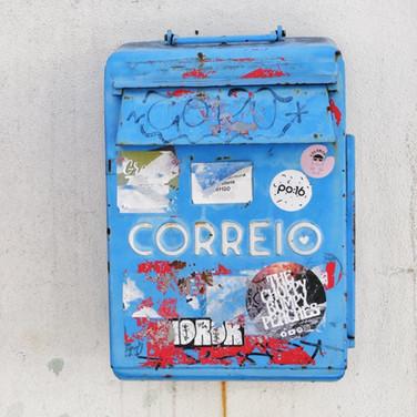 Blue Letter Box