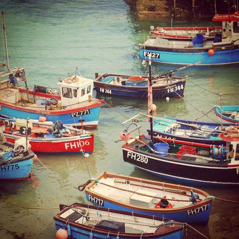 Coverack Harbour