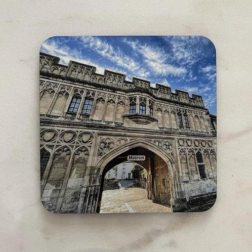 Priory Gatehouse Coaster