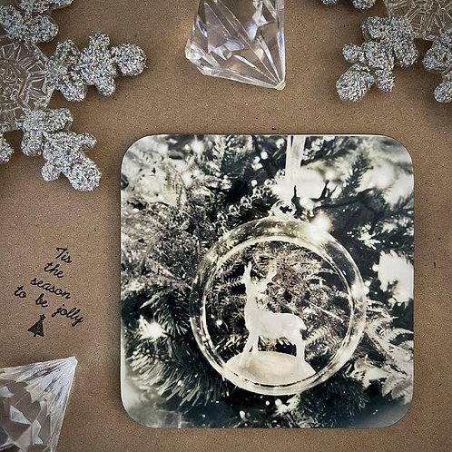 Christmas Decoration - Stag Coaster
