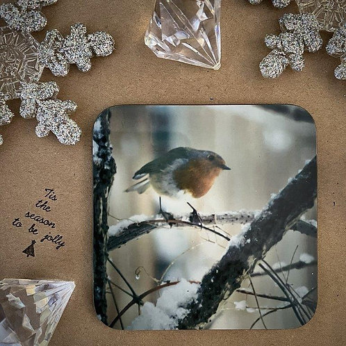 Snowy Robin Coaster