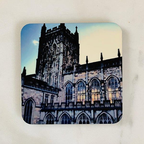 Great Malvern Priory Coaster