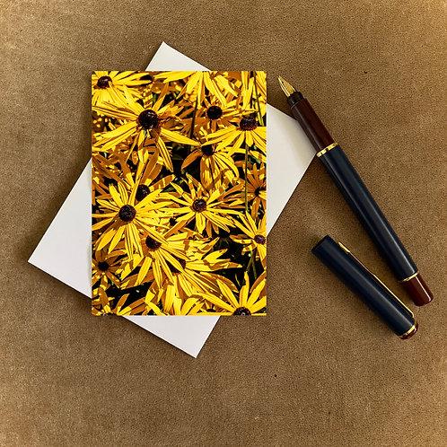 Summer Yellow Blank Mini Photocard