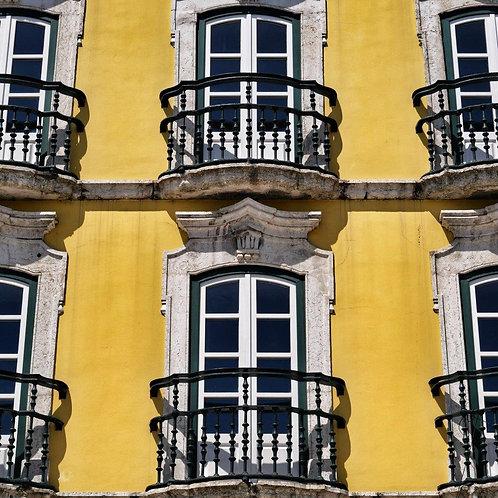 Sunshine Yellow Walls Blank Card
